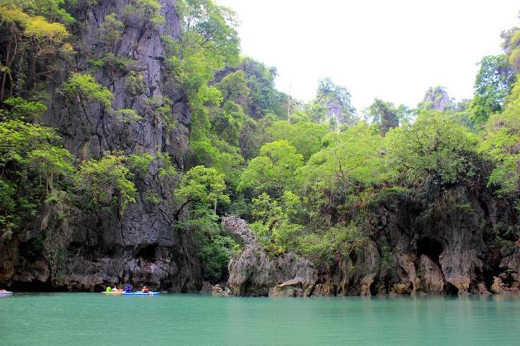 kayaking thailand
