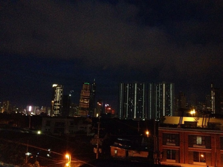 Manilla at night