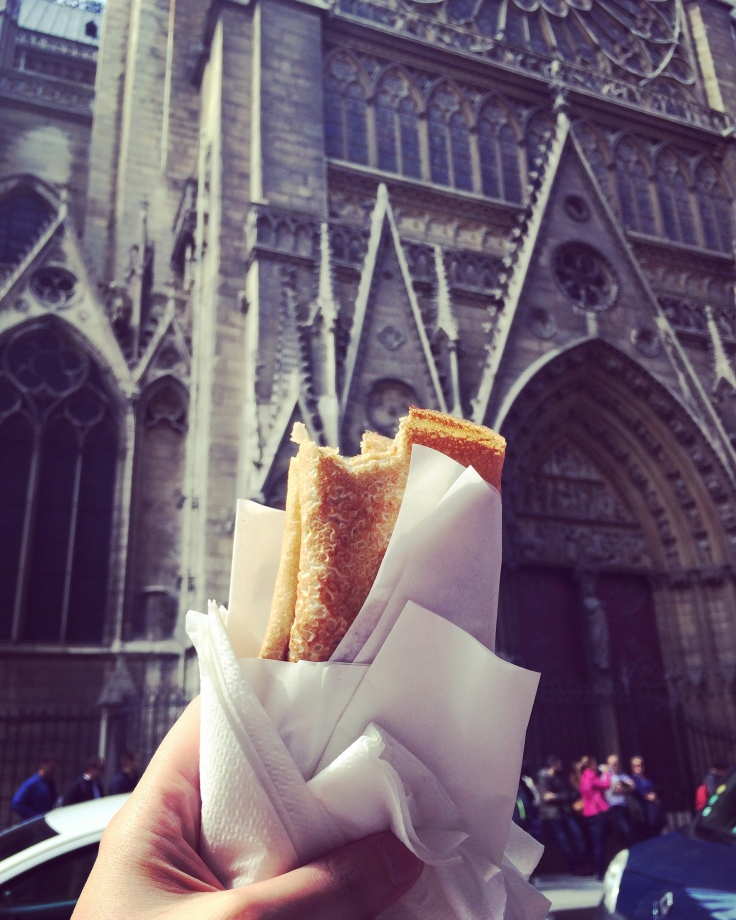 crepes at notre damme