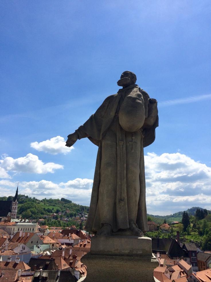 Cesky Krumlov Castle Sculptures